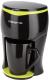 Капельная кофеварка Polaris PCM0109 (черный/салатовый) -