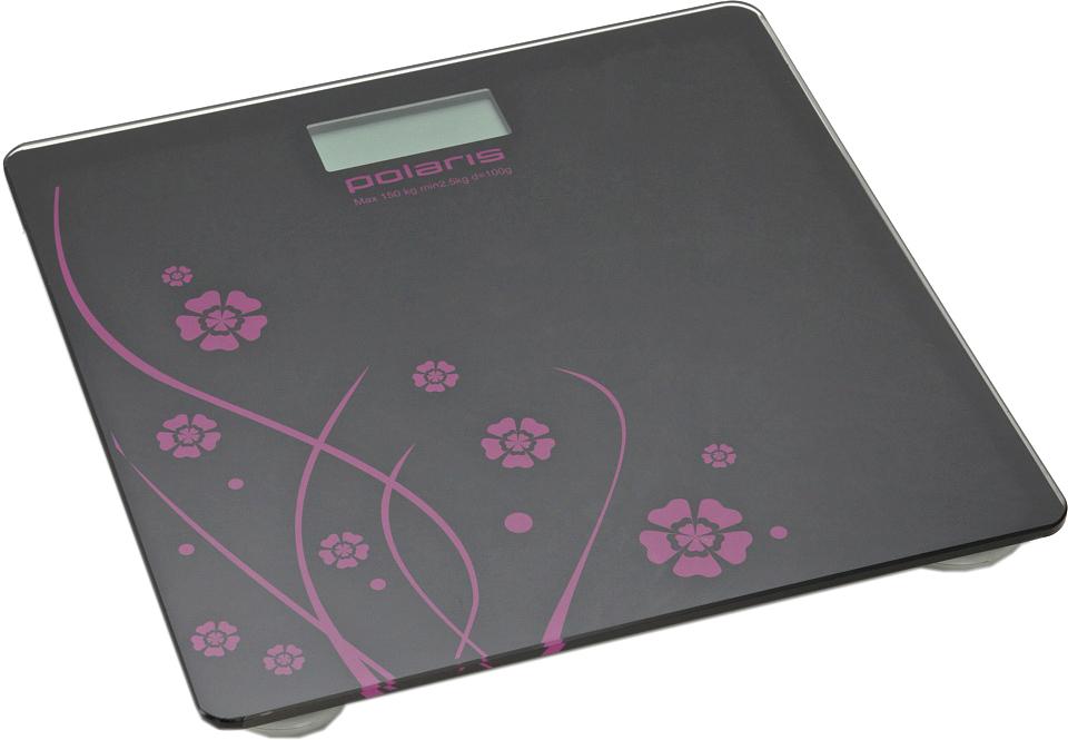 Купить Напольные весы электронные Polaris, PWS1523DG (черный), Китай