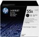 Комплект картриджей HP 55X (CE255XD) -