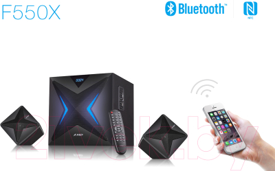 Мультимедиа акустика F&D F550X (черный)
