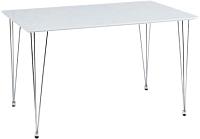 Обеденный стол Signal Paulo (белый глянец) -
