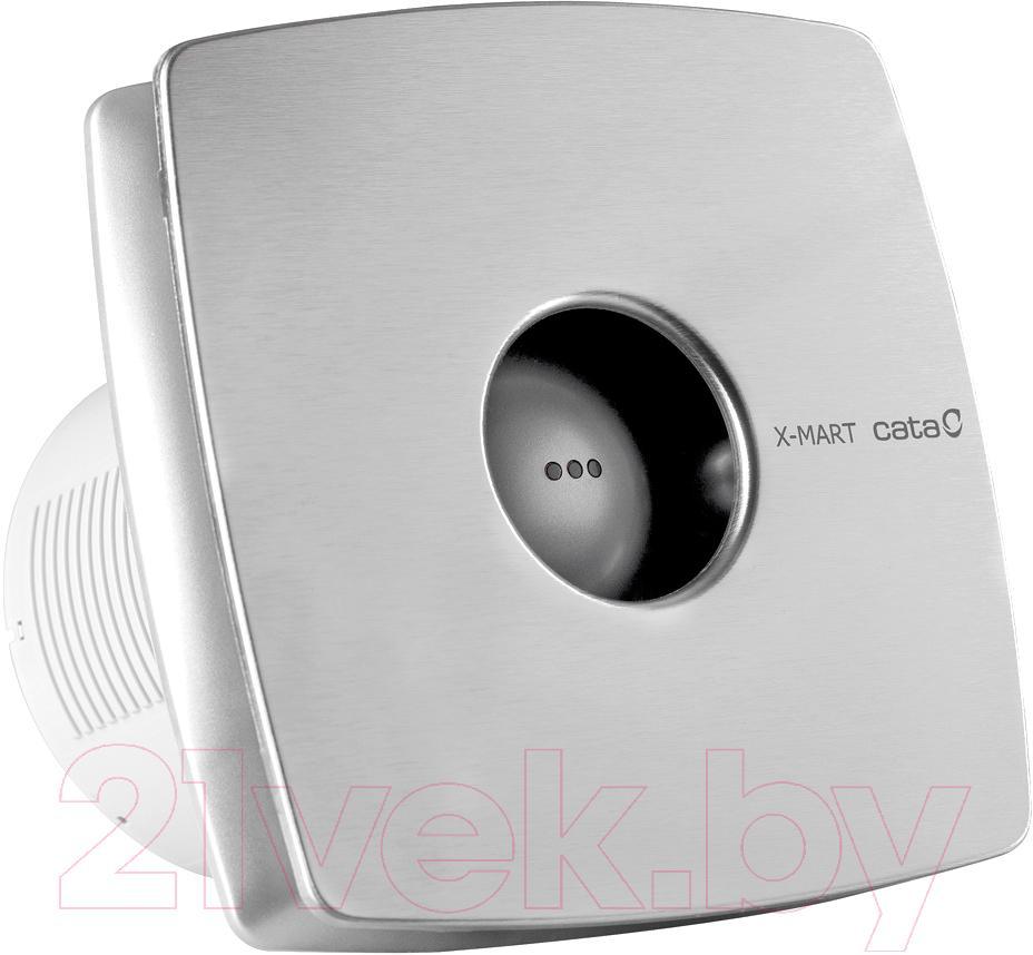 Купить Вентилятор вытяжной Cata, X-Mart 12 Inox Hygro, Китай, нержавеющая сталь