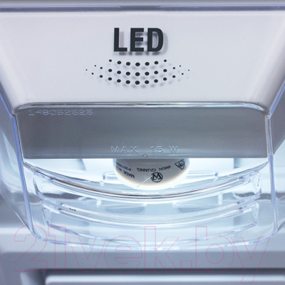Холодильник с морозильником Hotpoint-Ariston HF 4181 X