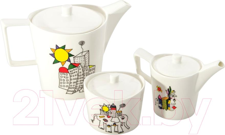 Купить Набор для чая/кофе BergHOFF, Eclipse Ornament 3705100, Китай, фарфор