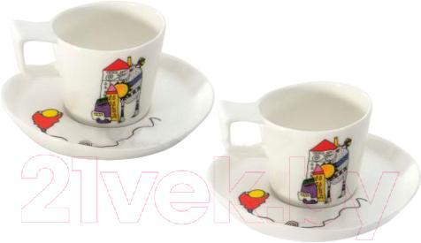 Купить Набор для чая/кофе BergHOFF, Eclipse Ornament 3705022, Китай, фарфор