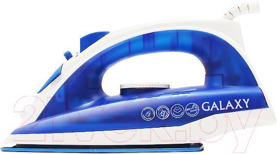 Купить Утюг Galaxy, GL 6121 (синий), Китай