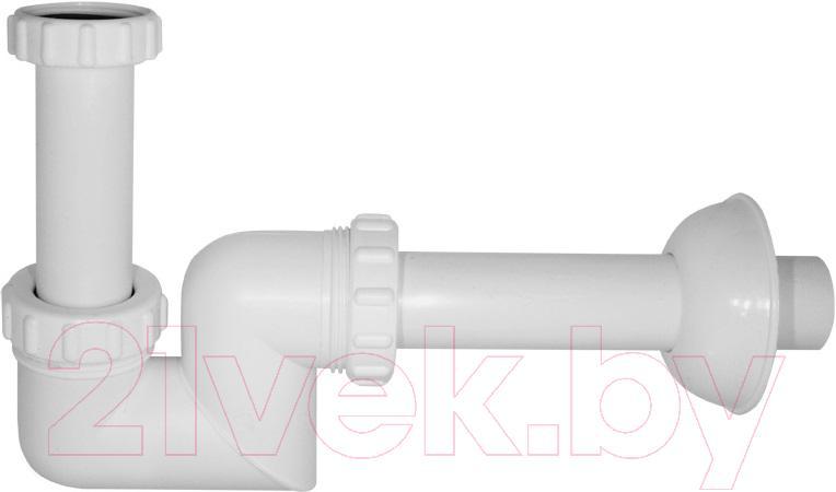 Сифон сливной Alcaplast, A45F, Чехия, полипропилен  - купить со скидкой