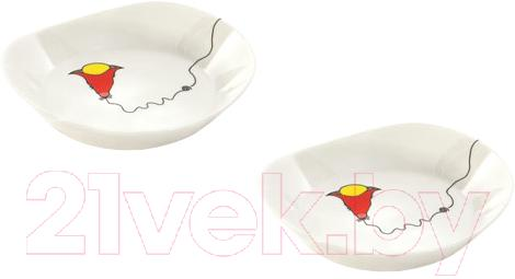 Купить Набор тарелок BergHOFF, Eclipse Ornament 3705004, Китай, фарфор