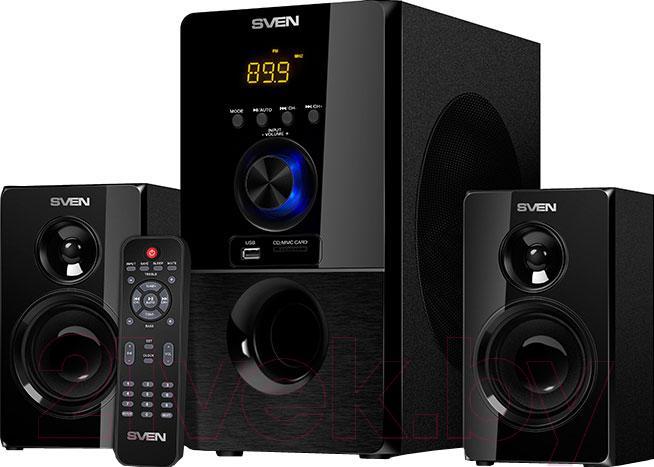 Купить Мультимедиа акустика Sven, MS-2050BL, Китай, черный