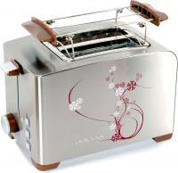 Тостер Polaris PET 0910 Sakura (коричневый) -