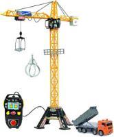 Игрушка на пульте управления Dickie Кран башенный с техникой / 203462413 -