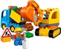 Конструктор Lego Duplo Грузовик и гусеничный экскаватор 10812 -