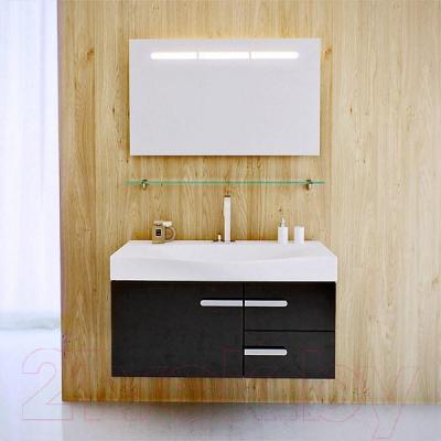 Полка для ванной Aqwella Европа 100 / Eu.06.10 - в интерьере