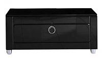 Тумба для ванной Aqwella Инфинити / Inf.03.08/BLK (1 ящик, черный) -
