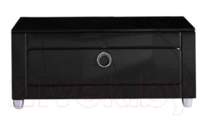 Тумба для ванной Aqwella Инфинити / Inf.03.08/BLK (1 ящик, черный)