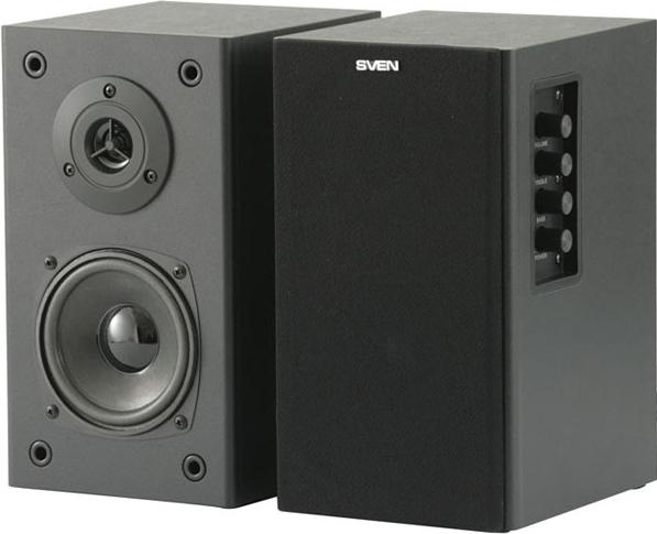 Купить Мультимедиа акустика Sven, SPS-611S (черный, кожа), Китай