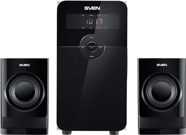 Купить Мультимедиа акустика Sven, MS-2000 (черный), Китай