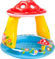 Надувной бассейн Intex Гриб мухомор / 57114NP (102x89) -