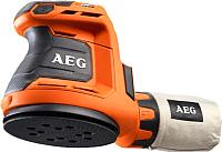 Профессиональная эксцентриковая шлифмашина AEG Powertools BEX18-125-0 (4935451086) -
