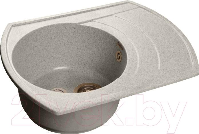 Купить Мойка кухонная GranFest, Rondo GF-R650L (серый), Россия