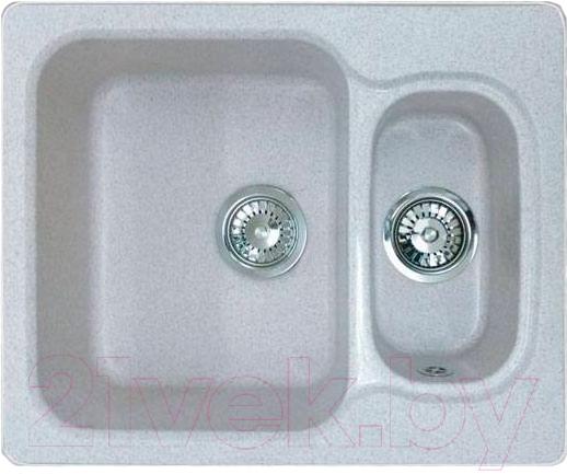 Купить Мойка кухонная GranFest, Standart GF-S615K (серый), Россия, искусственный камень