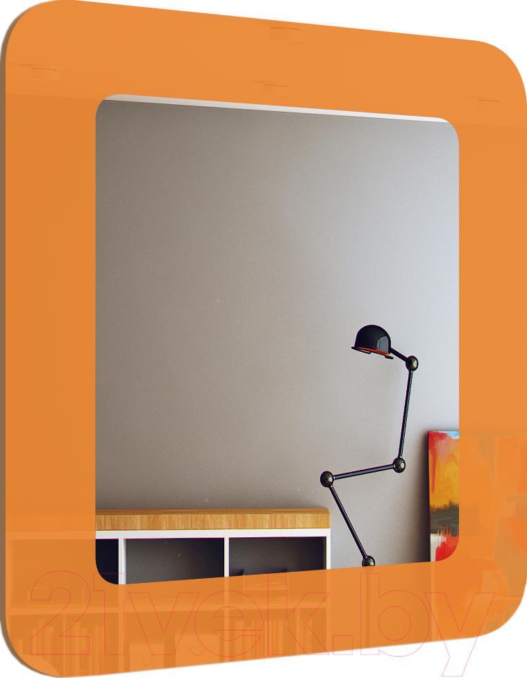 Купить Зеркало интерьерное Dubiel Vitrum, Fun-P 40x45 (5905241003122), Польша, оранжевый
