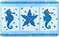 Коврик для ванной Tatkraft Marine Motifs 14916 -