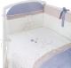 Комплект в кроватку Perina Котята КТ6-01.4 (лазурь) -