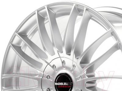 "Литой диск Borbet CW3 20x9"" 5x108мм DIA 63.4мм ET 45мм (Sterling Silver)"
