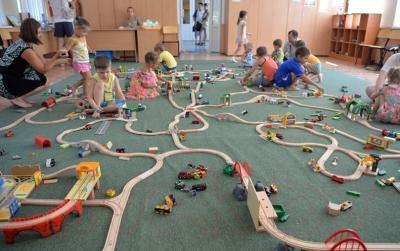 Элемент железной дороги Brio Паровоз с вагонами 33036
