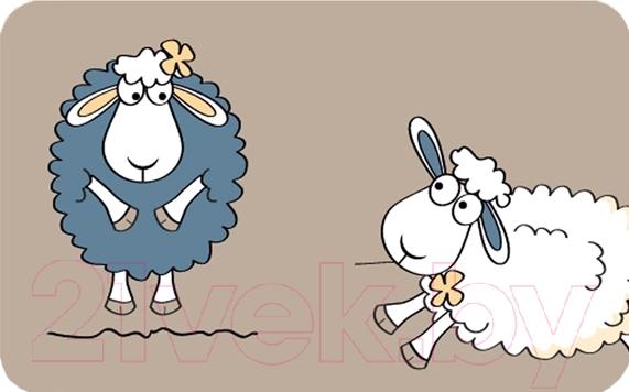 Купить Коврик для ванной Tatkraft, Funny Sheep 14947, Китай, микрофибра, Funny Sheeps (Tatkraft)