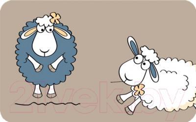 Коврик для ванной Tatkraft Funny Sheep 14947
