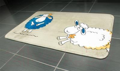 Коврик для ванной Tatkraft Funny Sheep 14947 - в интерьере