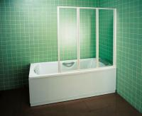 Пластиковая шторка для ванны Ravak VS3 115 (795S010041) -