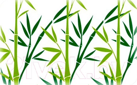 Купить Коврик для ванной Tatkraft, Bamboo Green 14954, Китай, микрофибра, Bamboo Green (Tatkraft)