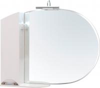 Шкаф с зеркалом для ванной Аква Родос Глория 105 L ZGLP105 / АР0002079 -