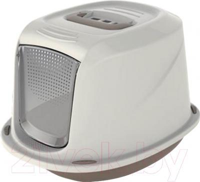 Georplast <b>Galaxy</b> Deluxe 10586 <b>Туалет</b>-домик для <b>кошек</b> купить в ...
