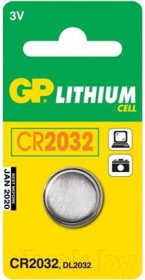 Батарейка GP Batteries CR 2032 (1шт)