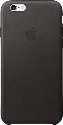 Чехол-накладка Apple Leather Case MKXW2