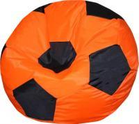 Бескаркасное кресло Flagman Мяч Стандарт М1.1-06 (оранжевый/черный) -