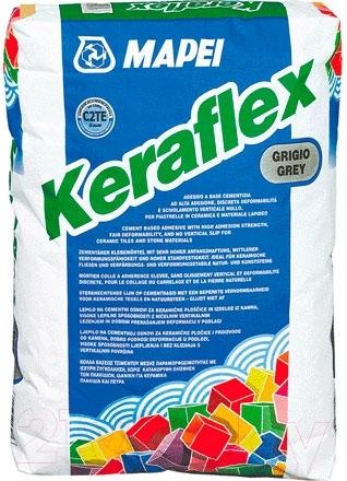 Купить Клей для плитки Mapei, Keraflex Grey (25кг, серый), Россия