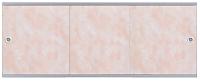 Экран для ванны МетаКам Премиум А 1.48 (облака розовый) -