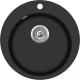 Мойка кухонная Aquasanita CLARUS SR100 (черный металлик) -