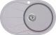 Мойка кухонная Aquasanita CLARUS SR101 (металлик) -