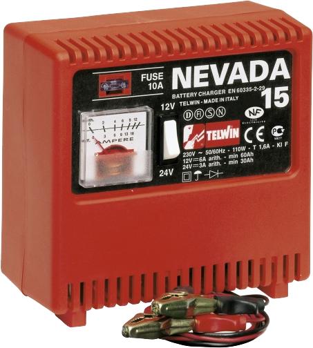 Купить Зарядное устройство для аккумулятора Telwin, Nevada 15, Китай