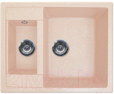 Мойка кухонная Gran-Stone GS-21 Light Pink