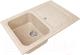 Мойка кухонная Gran-Stone GS-78 (песок) -