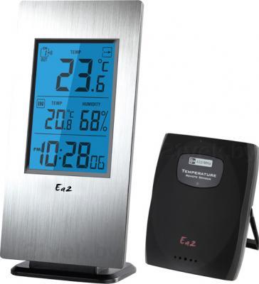 Метеостанция цифровая Ea2 AL802 - общий вид с выносным датчиком температуры