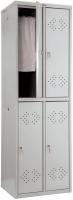Шкаф металлический Практик LS(LE)-22 -