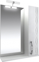 Шкаф с зеркалом для ванной Triton Кристи 60 (003.42.0600.101.01.01 R) -
